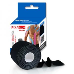 FIXAtape Kinesio Standart tejpovací páska 5 cm x 5m černá 1 kus