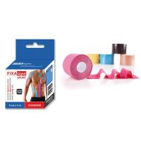 FIXAtape tejpovací páska KINESIO Standard 5cmx5m modrá