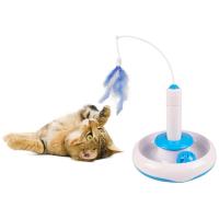 FLAMINGO Interaktivní hračka pro kočky 18 x 18cm