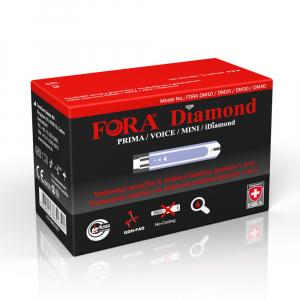 FORA Testovací proužky ke glukometrům Diamond 50 kusů
