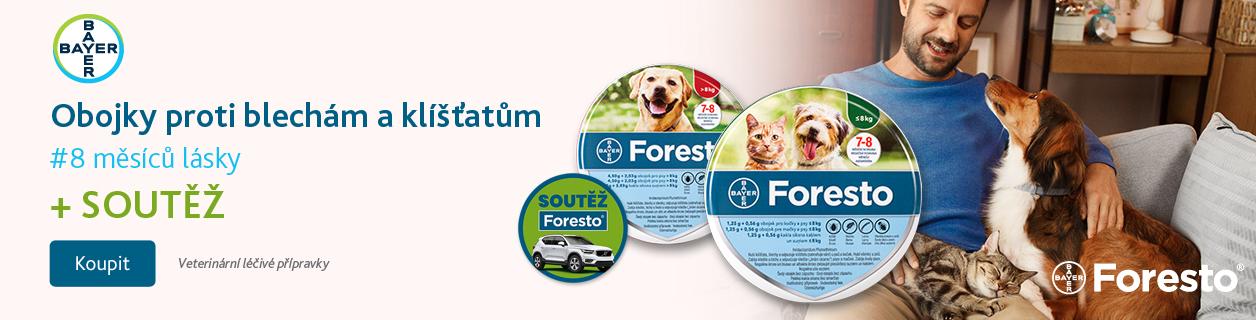 Foresto pro psy a kočky