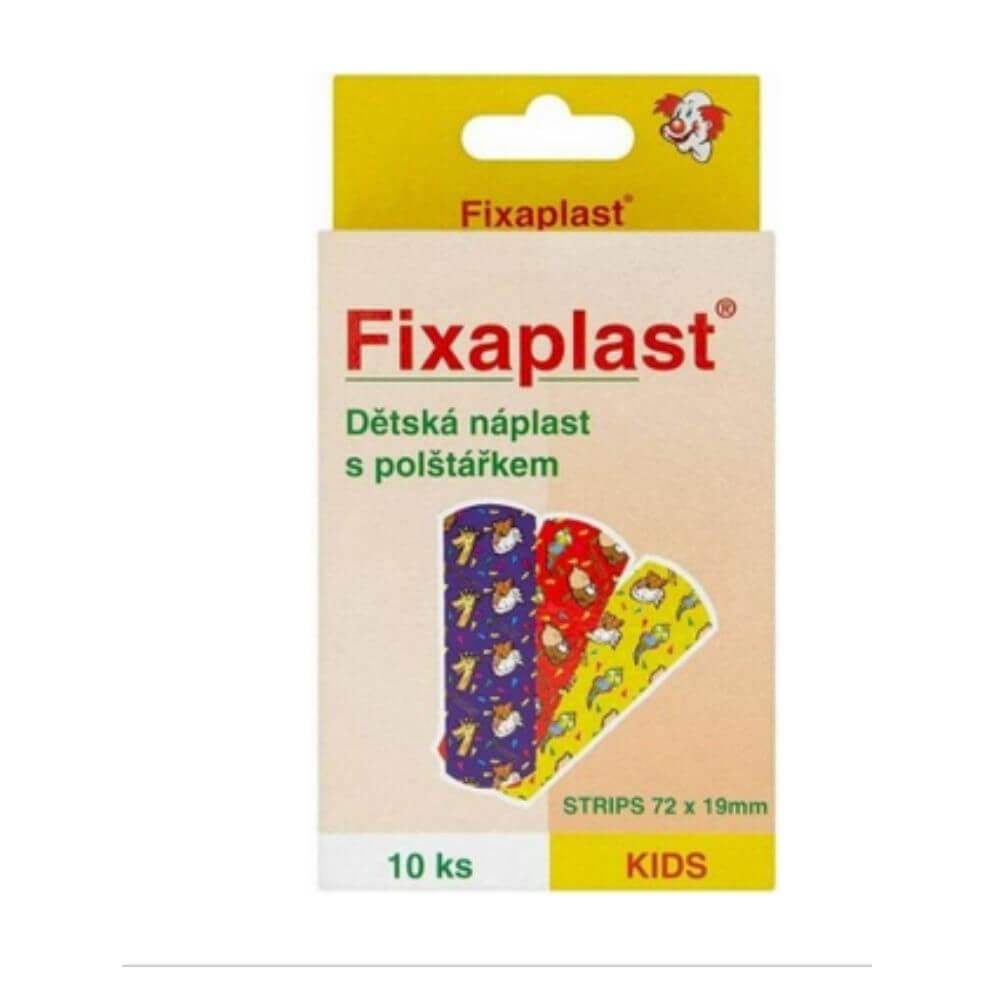 Náplast Fixaplast KIDS strip 10 ks