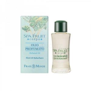 Frais Monde Spa Fruit Rhubarb Flower Perfumed Oil Parfémovaný olej 10ml Rebarbora