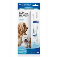 FRANCODEX Dental Kit zubní pasta 70 g + kartáček pes