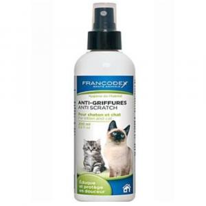 FRANCODEX Sprej proti škrábání kočka, kotě 200 ml