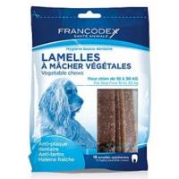 FRANCODEX Weggy žvýkací plátky M pes 350 g 15 kusů