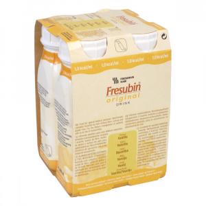 FRESUBIN Original roztok s vanilkovou příchutí 4 x 200 ml