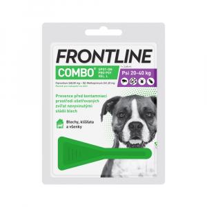 FRONTLINE Combo Spot-on pro psy L (20-40 kg) 1x2, 68 ml