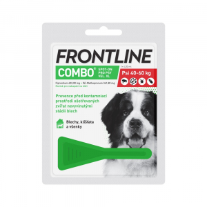 FRONTLINE Combo Spot-on pro psy XL (40-60 kg) 1x 4,02 ml