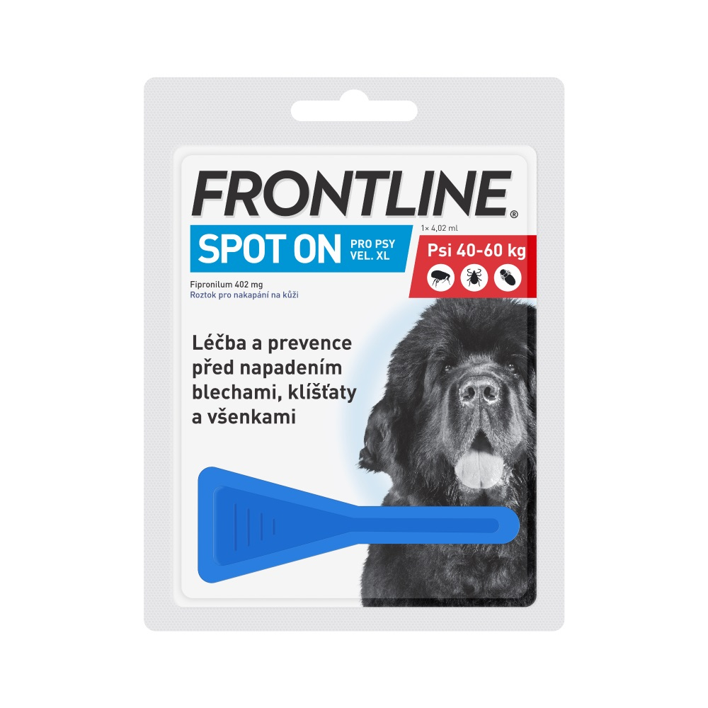 Frontline Combo Spot on Dog XL 1 x 4,02 ml (pes 40 - 60kg)