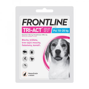 FRONTLINE Tri-Act Spot-on pro psy M (10-20 kg) 1x 2 ml