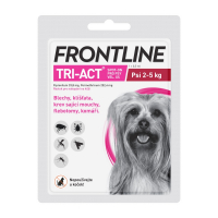 FRONTLINE Tri-Act Spot-on pro psy XS (2-5 kg) 1x0,5 ml