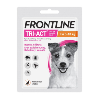 FRONTLINE Tri-Act Spot-on pro psy S (5-10 kg) 1x1 ml