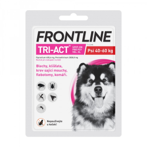 FRONTLINE Tri-Act Spot-on pro psy XL (40-60 kg) 1x 6 ml