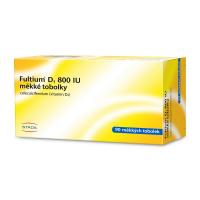 FULTIUM D3 800IU 90 měkkých tobolek