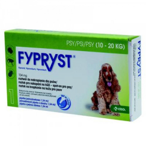FYPRYST Spot-on pro psy (10-20 kg) 1.34 ml