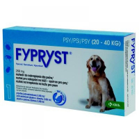 FYPRYST Spot-on pro psy (20-40 kg) 2.68 ml