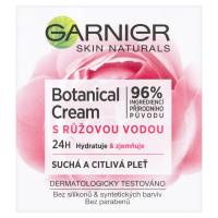 GARNIER Skin Naturals Botanical Krém s růžovou vodou 50 ml