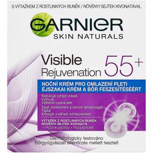GARNIER Skin Naturals Visible Rejuvenation 55+ Noční krém pro omlazení pleti 50 ml