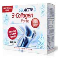 GELACTIV 3-Collagen Forte 120+60 kapslí DÁRKOVÉ balení 2020