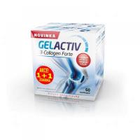 GELACTIV 3-Collagen Forte 60+60 kapslí ZDARMA