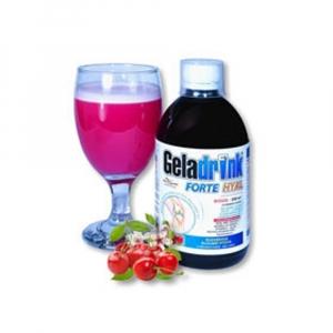 GELADRINK Forte Hyal biosol s příchutí višně 500 ml