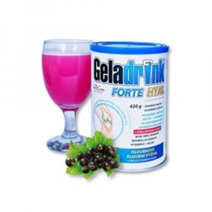 GELADRINK Forte Hyal práškový nápoj s příchutí černého rybízu 420 g