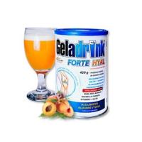GELADRINK Forte Hyal práškový nápoj s příchutí broskve 420 g