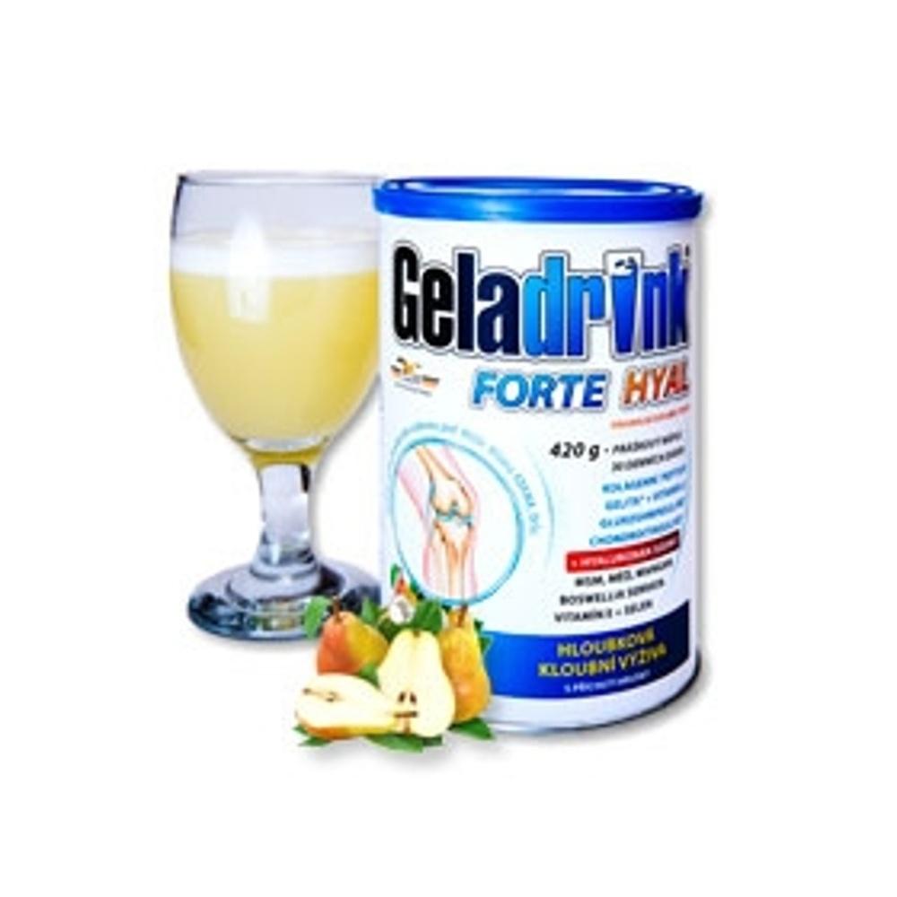 GELADRINK Forte Hyal práškový nápoj s příchutí hrušky 420 g