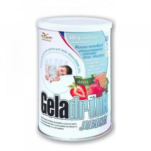 GELADRINK Junior nápoj jahoda 480 g