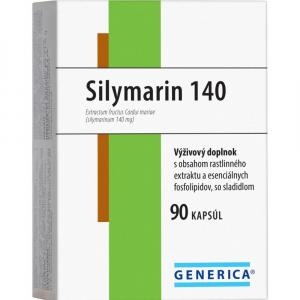 GENERICA Silymarin 140 mg 90 kapslí