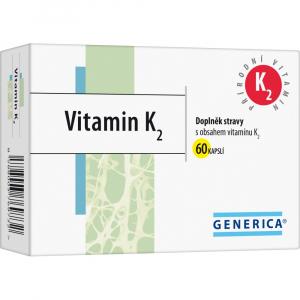GENERICA Vitamin K2 60 kapslí