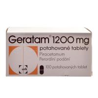 GERATAM Potahované tablety 1200mg 100 tablet