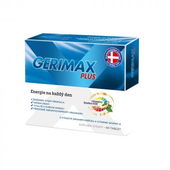 GERIMAX Plus 60 tablet, expirace 30.11.2021