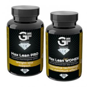 GF NUTRITION Max Lean PRO + Max Lean WOMEN 90 + 90 kapslí
