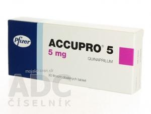 ACCUPRO 5  30X5MG Potahované tablety