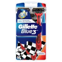 GILLETTE Blue3 Jednorázový holicí strojek 6 ks