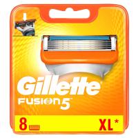 GILLETTE Fusion5 Náhradní hlavice pro muže 8 ks