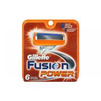 GILLETTE Fusion POWER náhradní hlavice 6 ks