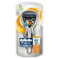 GILLETTE Fusion ProGlide SilverTouch Holicí Strojek + 2 holicí hlavice