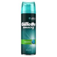 GILLETTE Mach3 Sensitive Gel na holení 200 ml