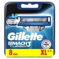 GILLETTE Mach3 Turbo Náhradní hlavice 8 ks