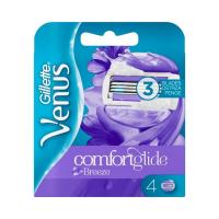 GILLETTE Venus ComfortGlide Breeze Náhradní hlavice 4 ks