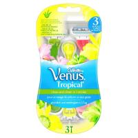 GILLETTE Venus Tropical Dámská pohotová holítka 3 ks