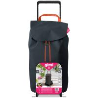 GIMI Tris Floral nákupní vozík šedý 52 l