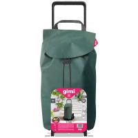 GIMI Tris Floral nákupní vozík zelený 52 l