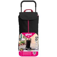 GIMI Twin nákupní vozík černý 50 l