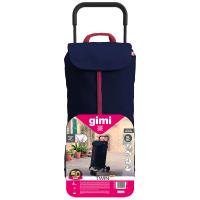 GIMI Twin modrý nákupní vozík 52 l