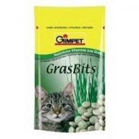 GÍMPET kočka Tablety GrasBits s kočičí trávou 40 g