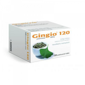 GINGIO 120 mg 120 potahovaných tablet